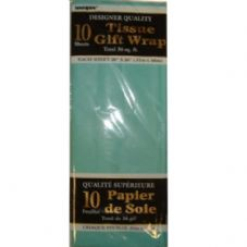 Teal Tissue Paper 10 Sheet Pack